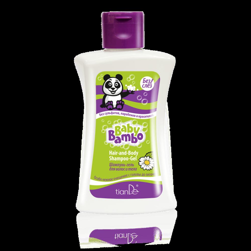 Šampón na telo a vlasy Baby Bambo
