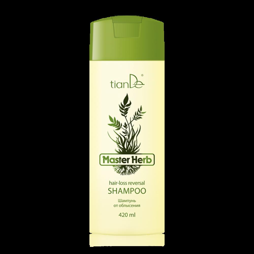 """Šampón proti vypadávaniu vlasov """"Master Herb"""""""
