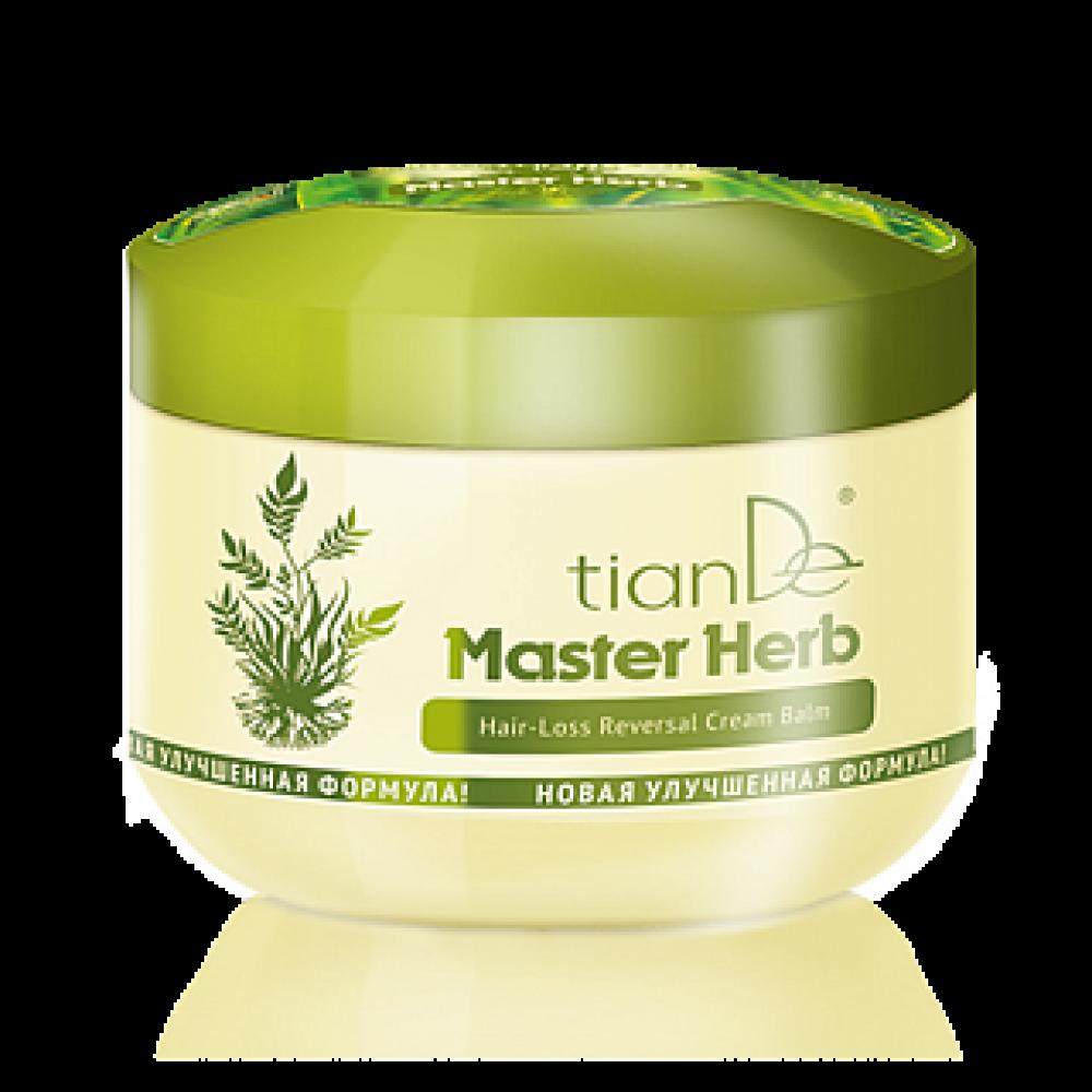 """Krémový balzam proti vypadávaniu vlasov """"Master Herb"""""""
