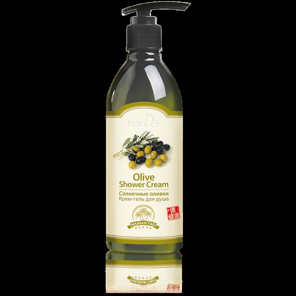 """Krémový sprchový gel """"Slnečné olivy"""""""