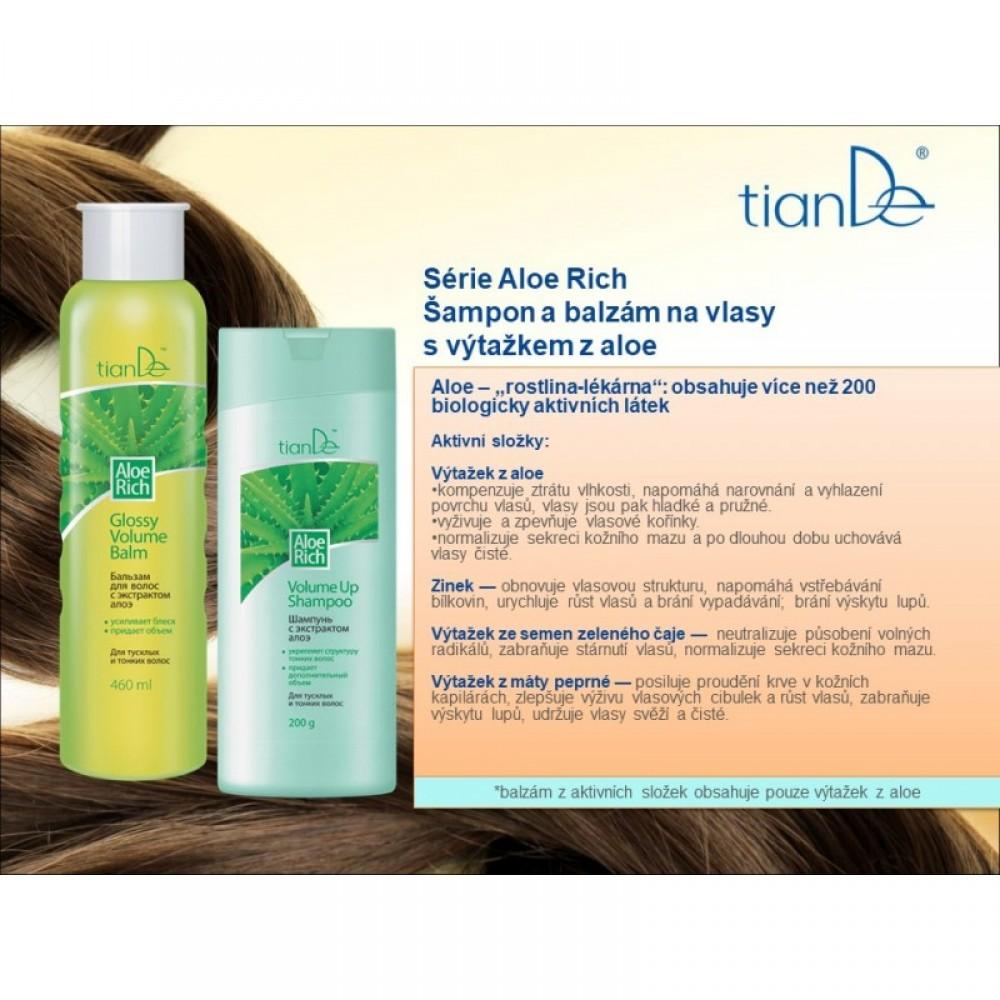 Šampón na vlasy s extraktom aloe