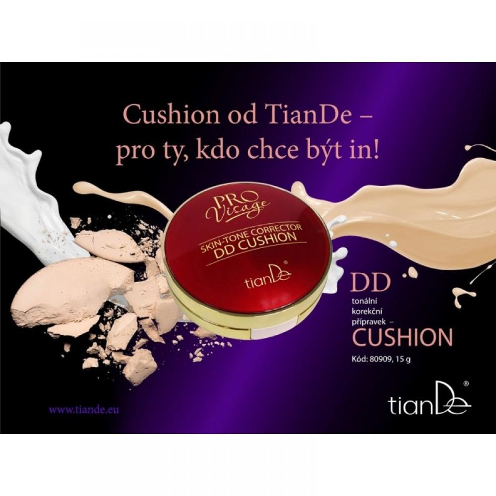 DD Tonálny korekčný prípravok Cushion