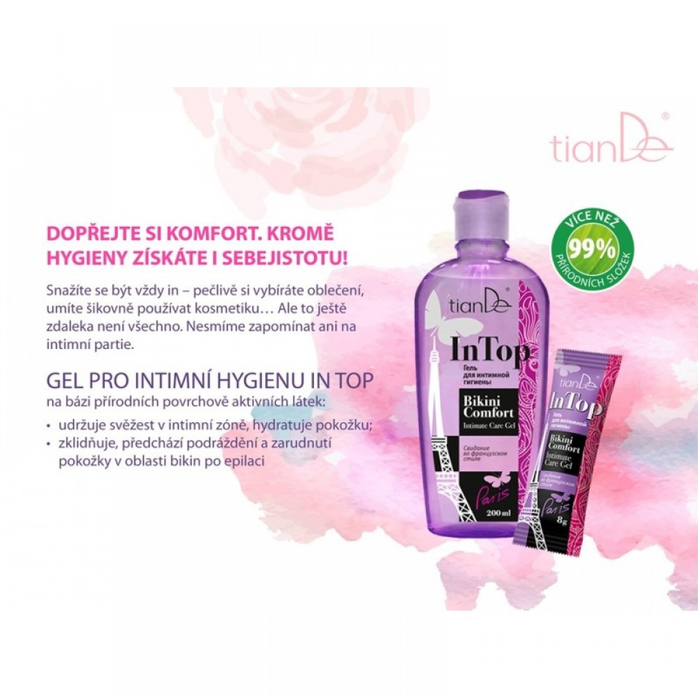 Gél na intímnu hygienu In Top