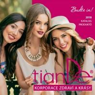 Katalóg produktov TianDe 2018