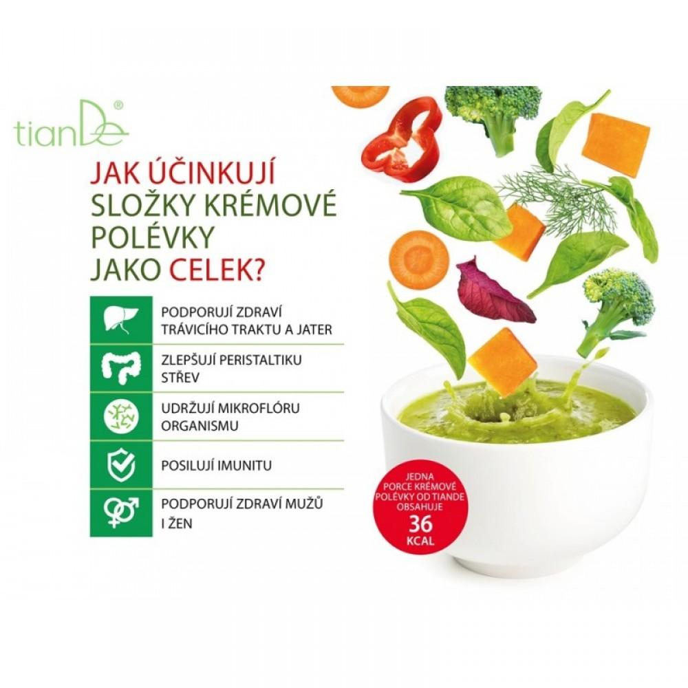 Krémová polievka s brokolicou, dyňou a šošovicou