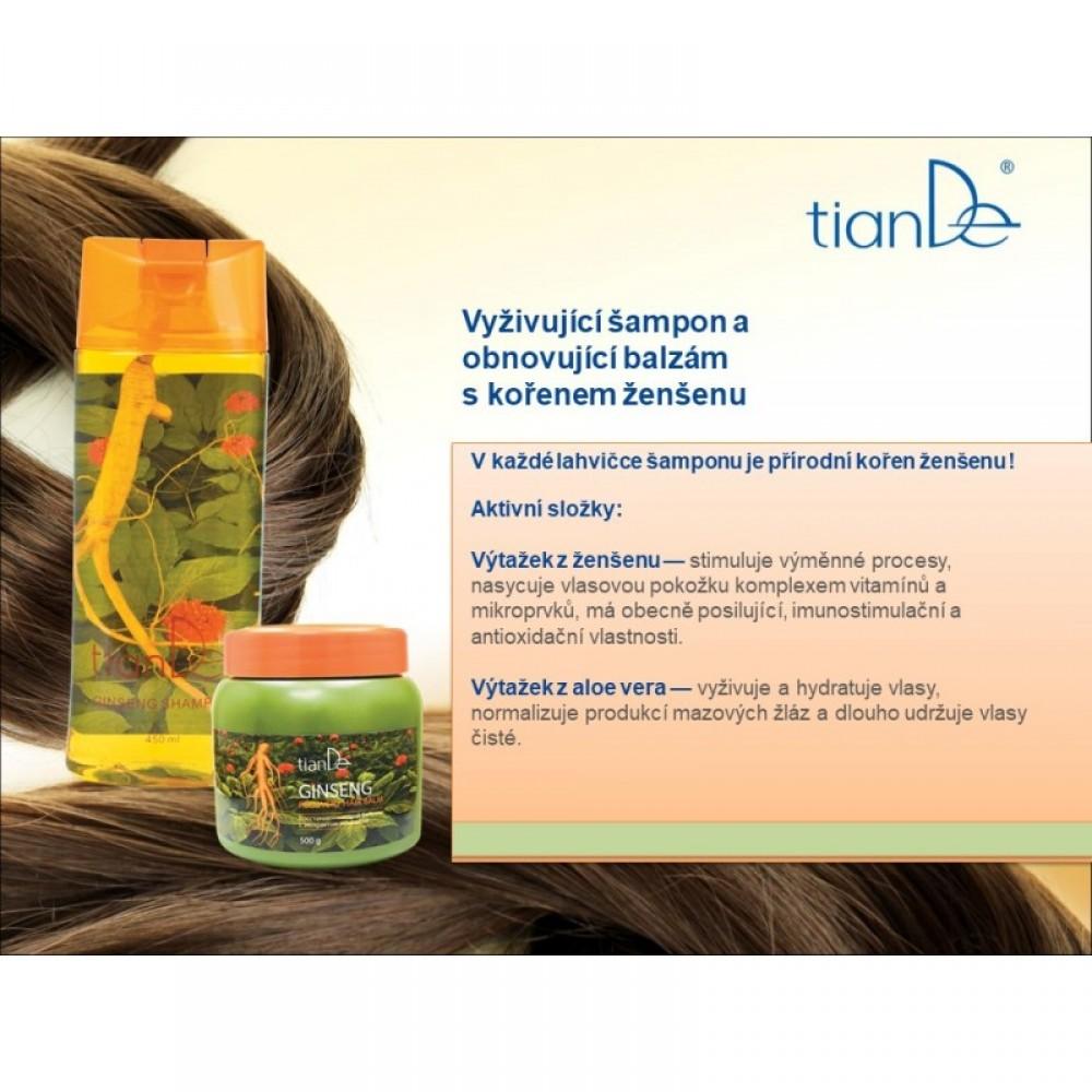 Obnovujúcí balzam na vlasy s extraktom ženšenu