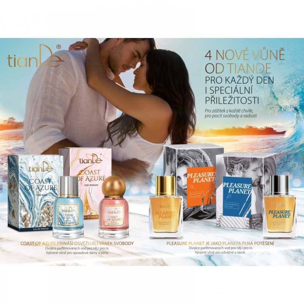 "Parfumovaná voda pre mužov ""Coast of Azure"""
