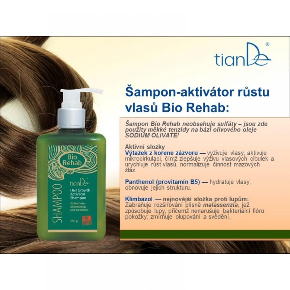 "Šampón - aktivátor rastu vlasov ""Bio Rehab"""