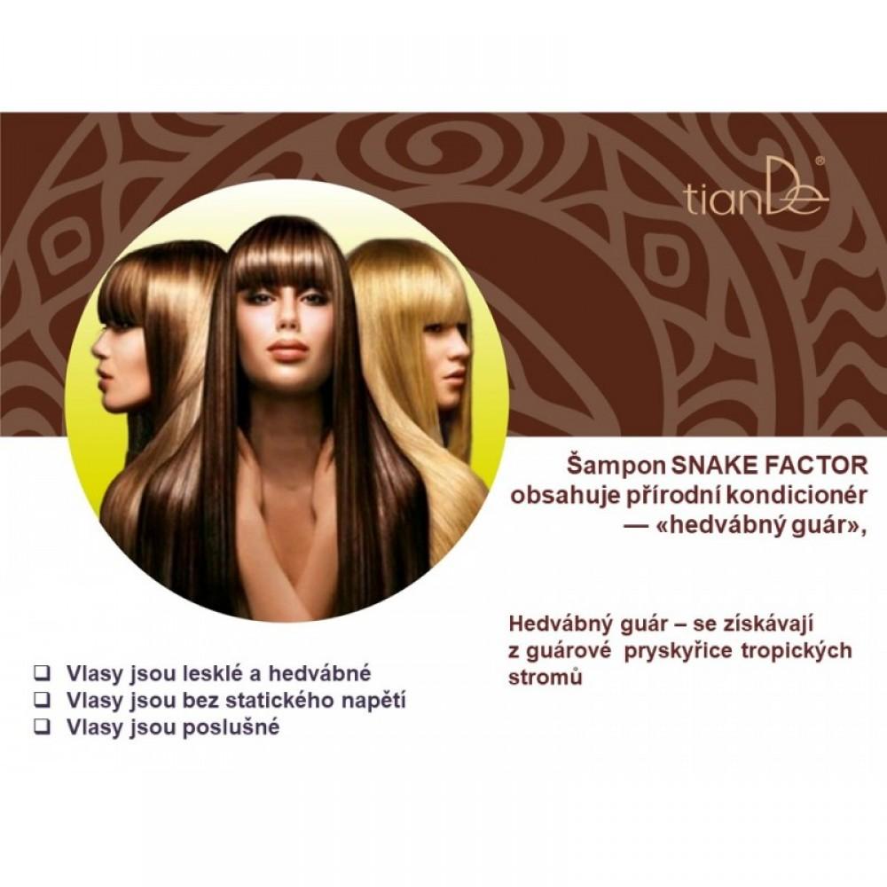 "Šampón na vlasy ""Snake Factor"""